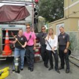 Firefighter visit 2012